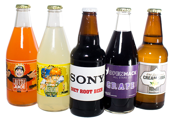 Custom Label Sodas